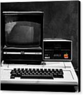 Apple II Personal Computer 1977 Canvas Print by Bill Cannon