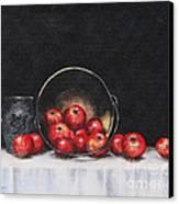 Apple Still Life Canvas Print by Rita Miller