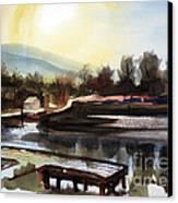 Approaching Dusk II Canvas Print by Kip DeVore