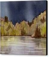 Approaching Rain Canvas Print