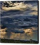 Approaching Storm Canvas Print by Douglas Barnard