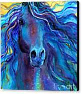 Arabian Horse #3  Canvas Print by Svetlana Novikova