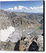 Arapaho Glacier Canvas Print by Aaron Spong