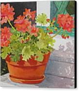 Arbor Gallery Steps Canvas Print by Mary Ellen Mueller Legault