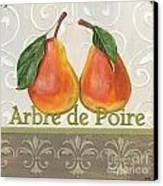 Arbre De Poire Canvas Print