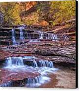 Arch Angel Cascades Canvas Print by Joseph Rossbach