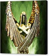 Archangel Azrael Canvas Print by Bill Tiepelman