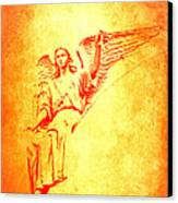 Archangel Michael  Canvas Print by Lali Kacharava