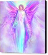 Archangel Raphael Canvas Print by Glenyss Bourne