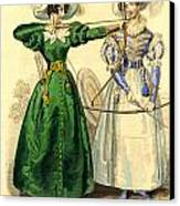 Archery Duchess Canvas Print