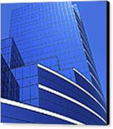 Architectural Blues Canvas Print
