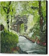 Archway In Central Park Canvas Print
