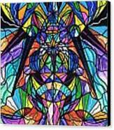 Arcturian Awakening Grid Canvas Print by Teal Eye  Print Store