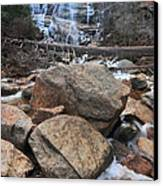Arethusa Falls Canvas Print by Catherine Reusch Daley