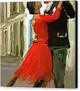 Argentina Tango Canvas Print by James Shepherd
