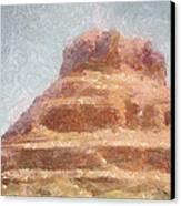 Arizona Mesa Canvas Print