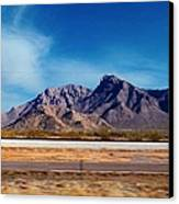 Arizona - On The Fly Canvas Print