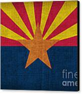 Arizona State Flag Canvas Print by Pixel Chimp