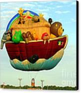 Arky Hot Air Balloon Canvas Print