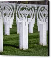 Arlington National Cemeterey Canvas Print by Susan Candelario