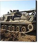 Army Tank Canvas Print