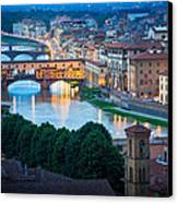 Arno Canvas Print by Inge Johnsson