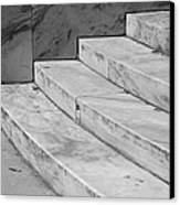 Art Deco Steps In Black And White Canvas Print