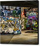Art Of The Underground Canvas Print by Heather Applegate