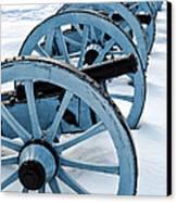Artillery Canvas Print by Olivier Le Queinec