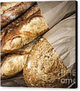 Artisan Bread Canvas Print by Elena Elisseeva