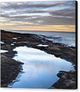 Artist Point Reflection Pool Canvas Print by Thomas Pettengill