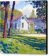 Artists Home Canvas Print