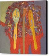 Artist's Pallete Canvas Print by Elizabeth Stedman