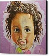 Artist's Youngest Daughter Canvas Print