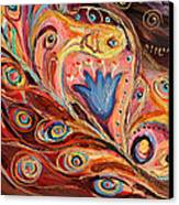 Artwork Fragment 104 Canvas Print by Elena Kotliarker