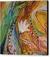 Artwork Fragment 30 Canvas Print by Elena Kotliarker