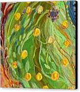 Artwork Fragment 81 Canvas Print by Elena Kotliarker