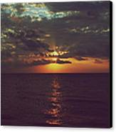 As Day Turns Into Night Canvas Print by Laurie Search