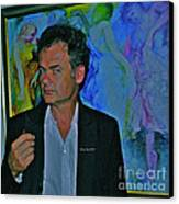 As Faust Said -  Linger On Fair Moment Canvas Print by  Andrzej Goszcz