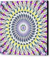 Ascending Eye Of Spirit Kaleidoscope Canvas Print by Derek Gedney