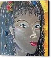 Ashanti Canvas Print by Karen Carnow