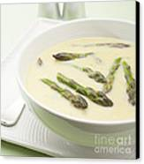 Asparagus Soup Canvas Print by Colin and Linda McKie
