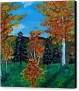 Aspen Canvas Print by Kat Poon