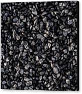 Asphalt Gravel Canvas Print by Hakon Soreide