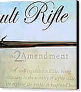 Assault Rifle Canvas Print by GCannon