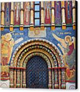 Assumption Cathedral Entrance Canvas Print by Elena Nosyreva
