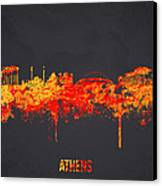 Athens Greece Canvas Print by Aged Pixel