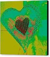 Athlone Heart Canvas Print by Dorothy Rafferty