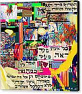Atomic Bomb Of Purity 2b Canvas Print