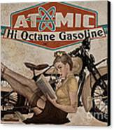 Atomic Gasoline Canvas Print by Cinema Photography